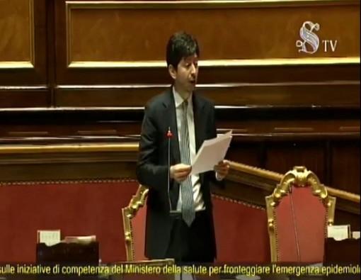 """Coronavirus, il ministro della salute Speranza al Senato: """"Restrizioni fino al 13 aprile"""""""