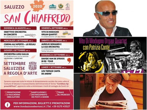 La Festa di San Chiaffredo apre il Settembre Saluzzese: appuntamenti e serate musicali da vivere