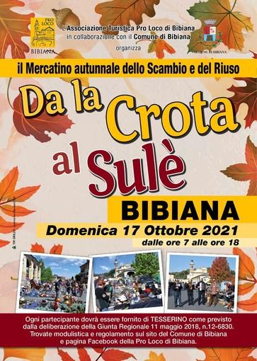 'Da la Crota al Sulè': le bancarelle degli hobbisti tornano in strada a Bibiana