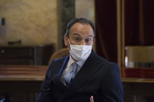 Il governatore Alberto Cirio