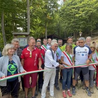 A Roburent inaugurata la 'via dei Cannoni', un percorso tra storia e natura [VIDEO]