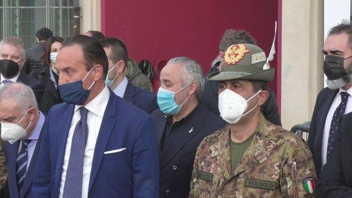 """Figliuolo: """"In Piemonte 30mila vaccini al giorno entro fine mese. Serve uno sforzo in più per i fragili"""" [VIDEO]"""