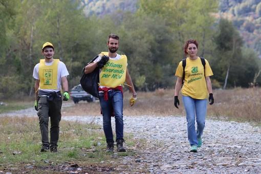 Luserna San Giovanni e Villar Pellice: pulizia con Legambiente