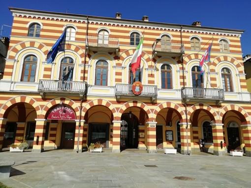 Il municipio di Luserna San Giovanni