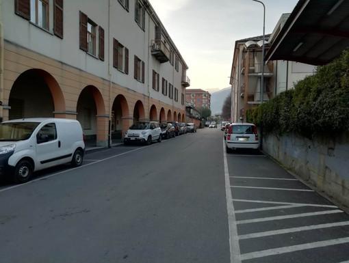 Area dietro al municipio di Luserna San Giovanni