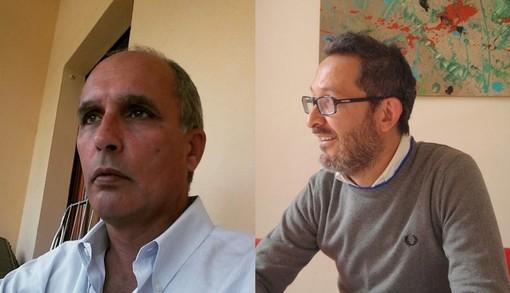 Da sinistra Roberto Prinzio e Luca Barbero