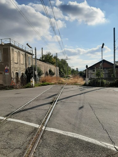 La linea ferroviaria Pinerolo-Torre Pellice a Pinerolo