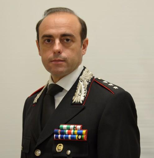 Il nuovo comandante dei carabinieri Alberto Azara ha preso servizio a Pinerolo