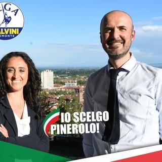 I candidati Ciancio e D'Aloia (Lega)