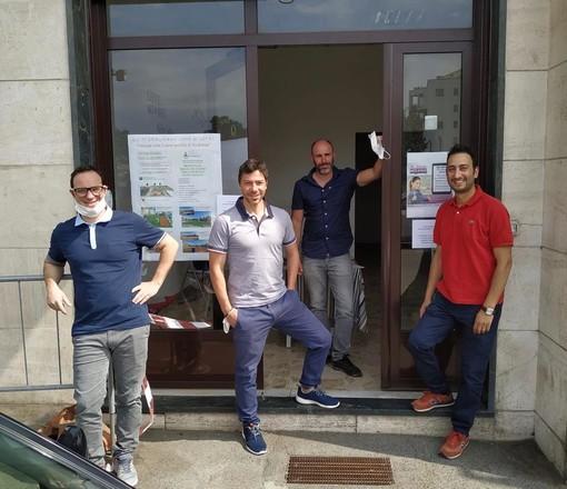 Da sinistra Davide Minissale, Vito Minissale, Andrea Pennazzato e Fabiano Vodini