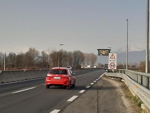 Autovelox sulla Tangenziale di Pinerolo
