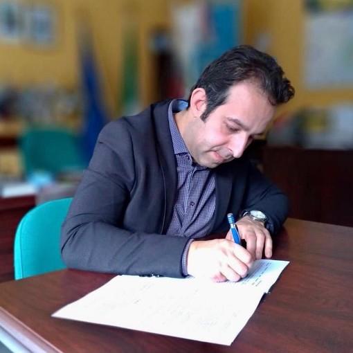 Il sindaco di Pinasca Roberto Rostagno