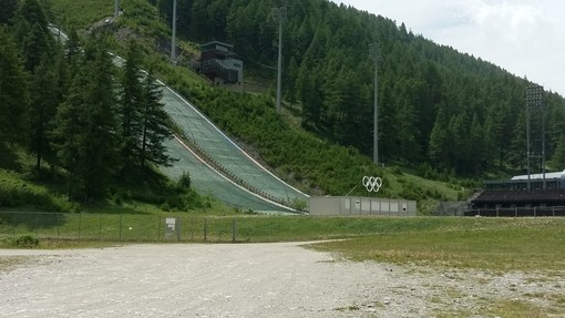 I trampolini olimpici di Pragelato