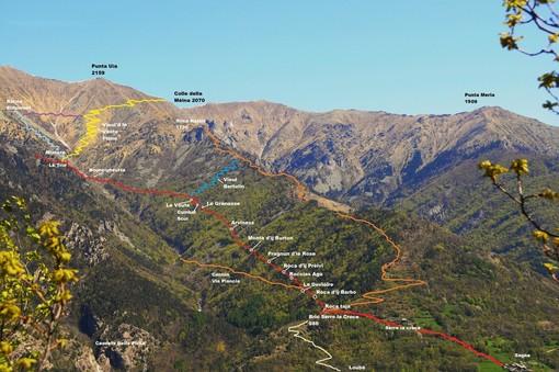 Sentiero toponomastico delle miniere di Perosa Argentina