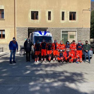 La nuova ambulanza Tango di Pragelato