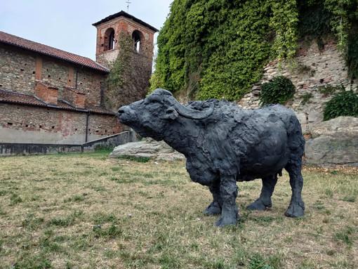 Le opere di Rivalta (foto di Cinzia Consolati)
