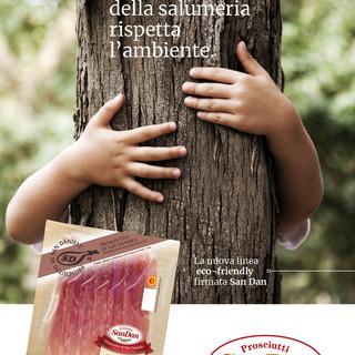 La nuova linea di affettati eco-friendly, firmata San Dan Prosciutti, porta in tavola qualità e sicurezza nel pieno rispetto dell'ambiente
