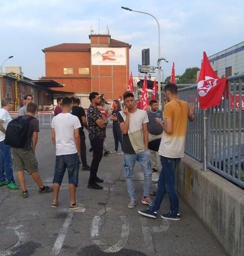 Dopo lo sciopero alla Raspini di Scalenghe di stamattina, si apre uno spiraglio