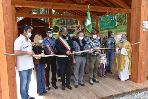 Una nuova struttura per gli Alpini di Sestriere in località Monterotta