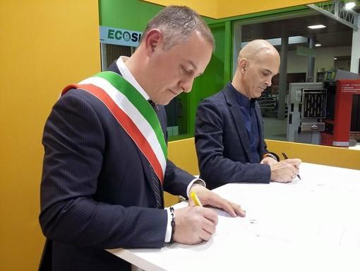 Il sindaco Andrea Ferretti