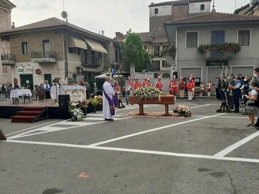 I funerali di Abate, sindaco di Vigone