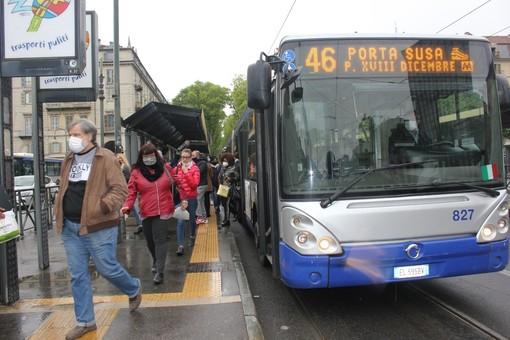 Gtt potenzia il trasporto nel weekend del Primo Maggio