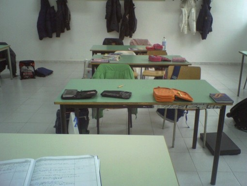 Banchi in aula