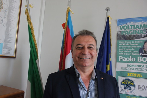 Paolo Bongioanni, presidente di Fdi Piemonte