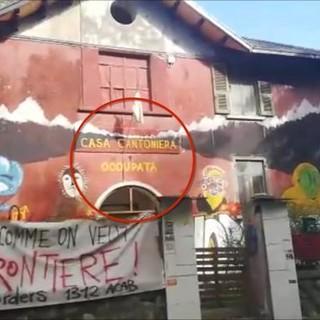 Casa cantoniera occupata dagli anarchici