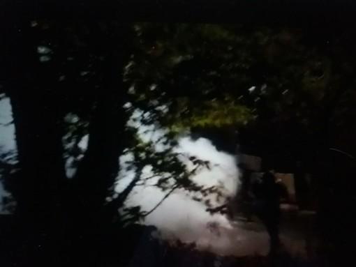 Tensioni tra polizia e No Tav ieri sera al cantiere di Chiomonte