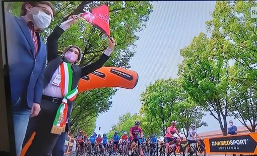 seconda tappa del Giro al via da Stupinigi