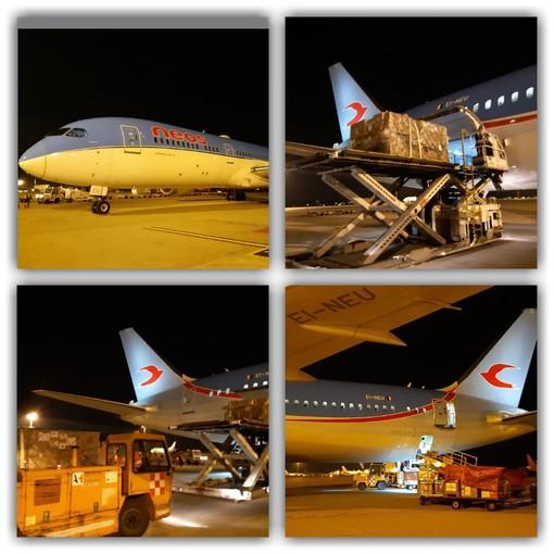 Coronavirus, Fondazione Crt sostiene il ponte aereo tra Italia e Cina per trasportare materiali sanitari
