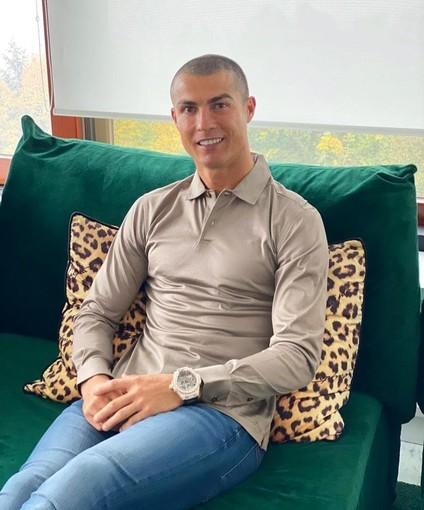 immagine tratta dalla pagina instagram di Cristiano Ronaldo