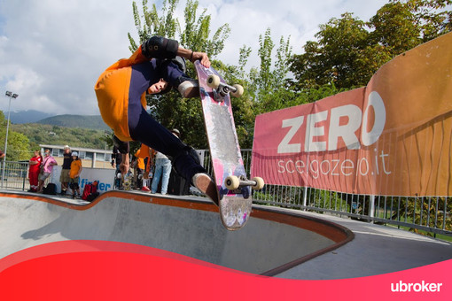 Sport, 'uBroker' Main Partner della rinomata skateboard-competition 'Poolarama' ad Almese