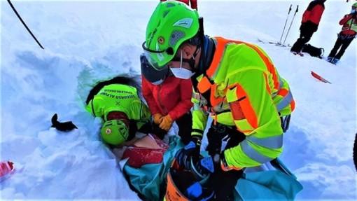 Uomini del Soccorso alpino