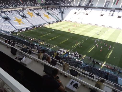 Il silenzio e l'irreale clima dell'Allianz Stadium in attesa del derby (FOTO)