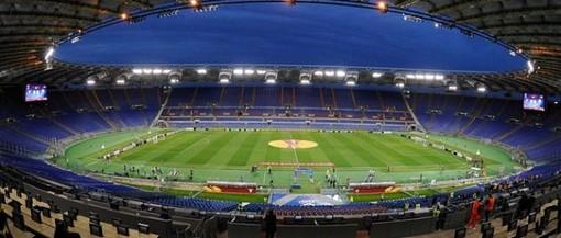 lo stadio Olimpico di Roma - foto d'archivio