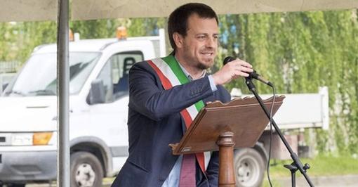 Il sindaco di Pinerolo Luca Salvai