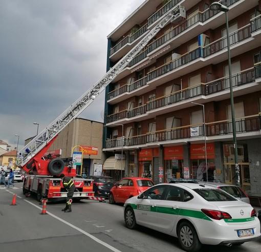 pompieri e polizia locale nichelino